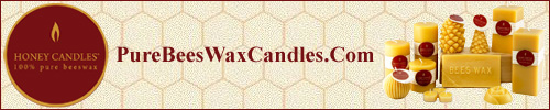 100% pure beeswax Honey Candles®