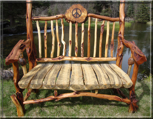 Spirit Of The West Log Furniture Diamond Willow