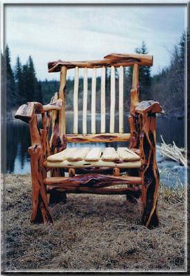 Spirit Of The West Log Furniture Diamond Willow Juniper Black Sage Birch Pine