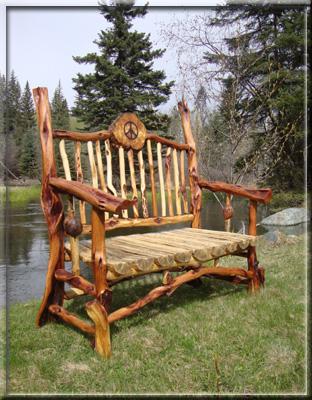 Spirit Of The West - Log Furniture - Diamond Willow ...