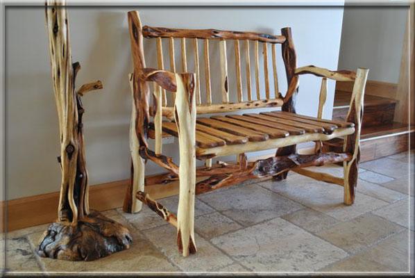 Spirit Of The West Log Furniture Diamond Willow